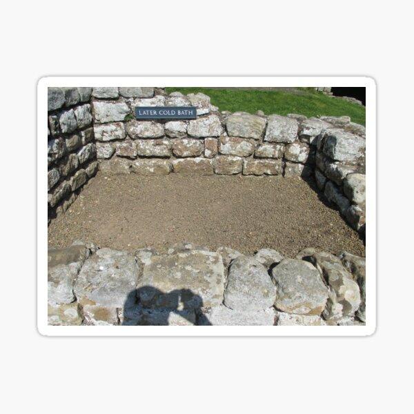 M.I. #109  ☼  LATER COLD BATH (Hadrian's Wall) Sticker