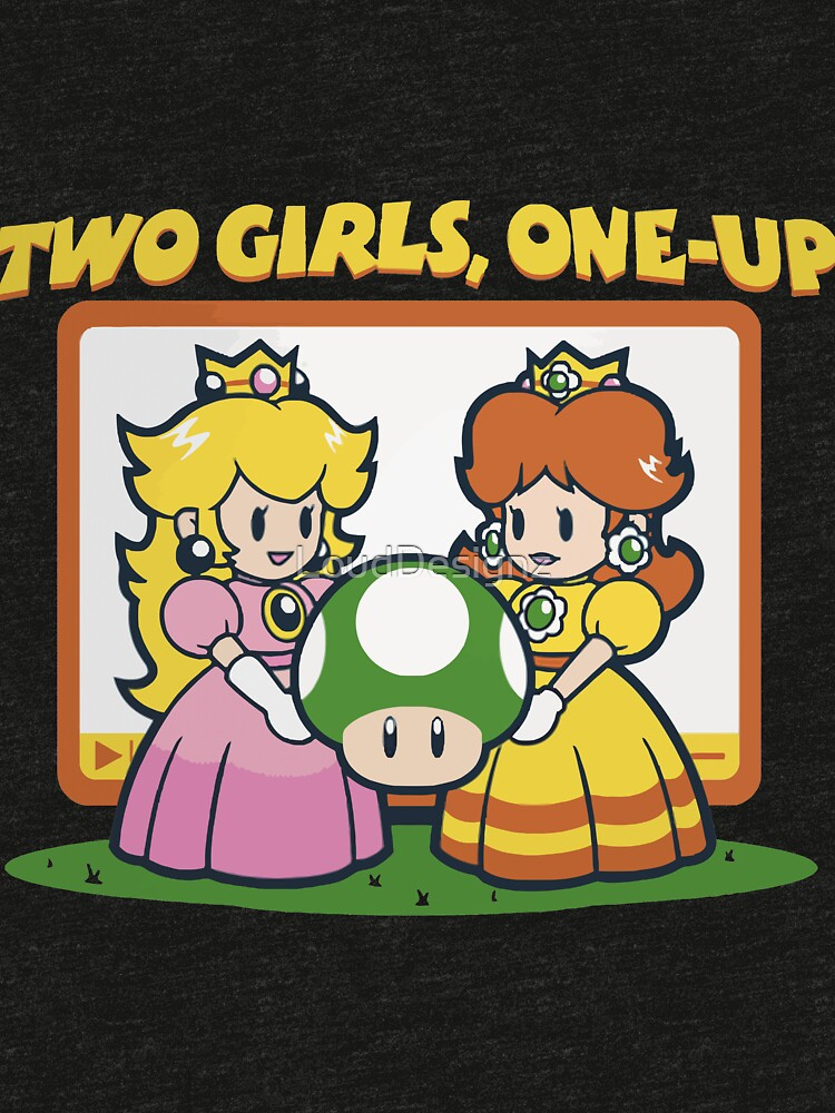 2 Girls, One-Up by LoudDesignz