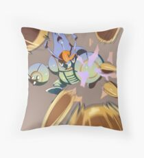 Pin Missile!! Throw Pillow