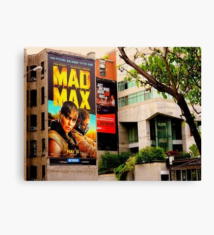 The Future Belongs to the MAD:  MAD MAX Canvas Print