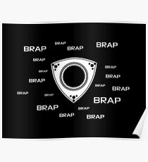Rotary Brap (the noise a rotary engine makes) Poster