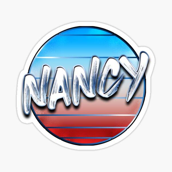 Nancy version 1,  Sticker