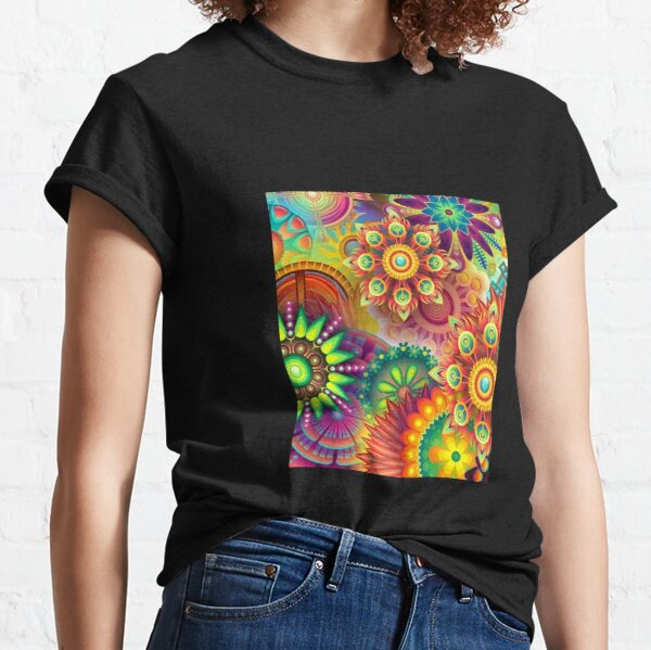 Psychedelic Madness Classic T-Shirt