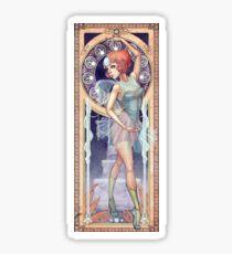Pearl Mucha Sticker