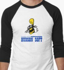 Hudson Soft Boxing Bee Logo Men's Baseball ¾ T-Shirt