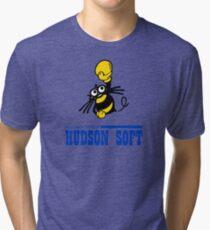 Hudson Soft Boxing Bee Logo Tri-blend T-Shirt
