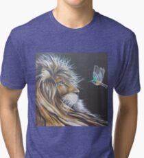 Lion and Sunbird Tri-blend T-Shirt