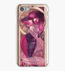 Garnet Mucha iPhone Case/Skin