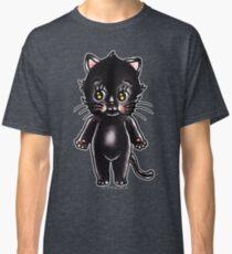Black Cat Kewpie Classic T-Shirt