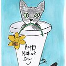 Mothers Day card by Blackbird76
