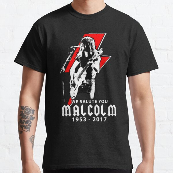 Malcolm Young Malcolm Young - We Salute You Classic T-Shirt