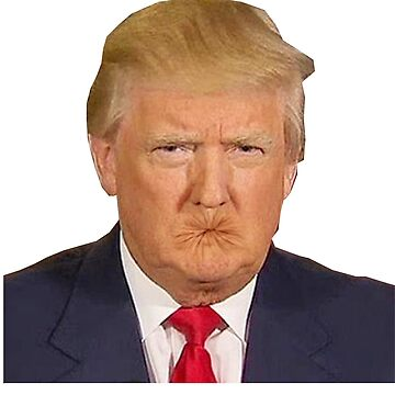 Trumps mouth is actually a butthole by Memegode
