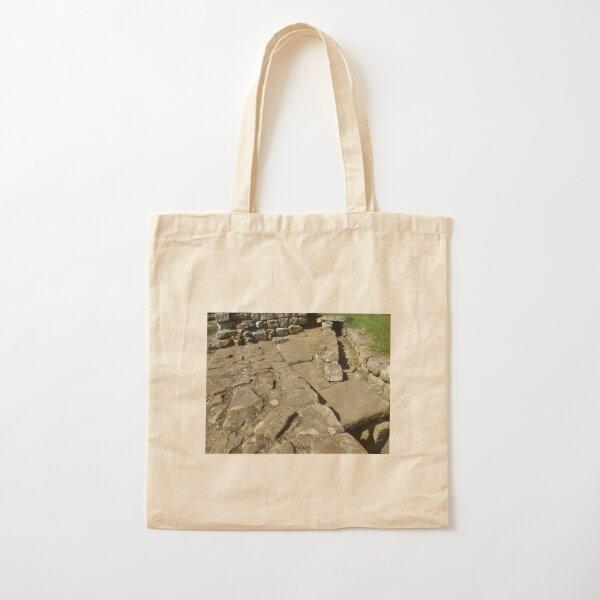 M.I. #110 |☼| Rocks And Bricks - Shot 12 (Hadrian's Wall) Cotton Tote Bag