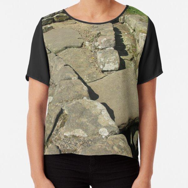 M.I. #110 |☼| Rocks And Bricks - Shot 12 (Hadrian's Wall) Chiffon Top