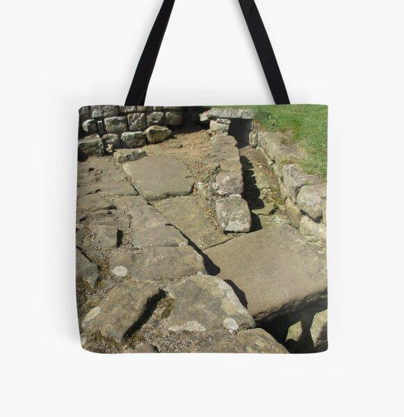 M.I. #110 |☼| Rocks And Bricks - Shot 12 (Hadrian's Wall) All Over Print Tote Bag