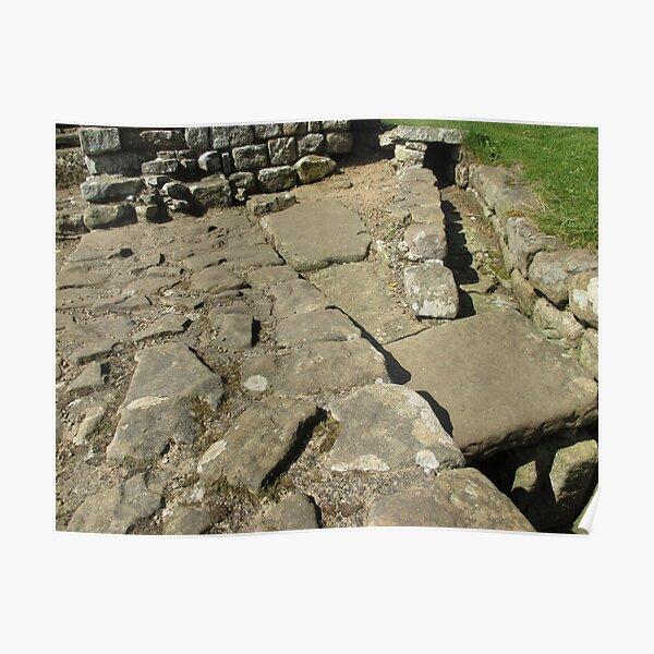 M.I. #110  ☼  Rocks And Bricks - Shot 12 (Hadrian's Wall) Poster