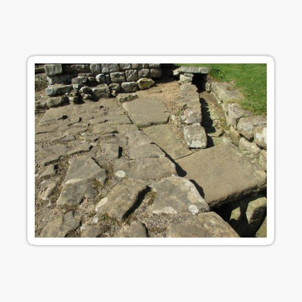 M.I. #110  ☼  Rocks And Bricks - Shot 12 (Hadrian's Wall) Sticker