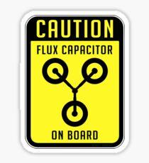 Flux Capacitor Sticker