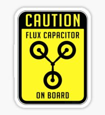 Flux Capacitor Sticker