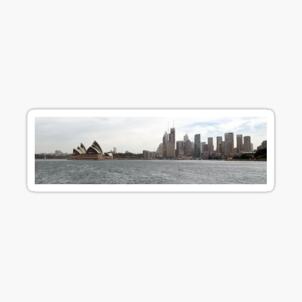 Opera House Circular Quay Sydney Sticker