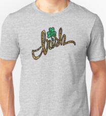irish glitter clover shamrock T-Shirt