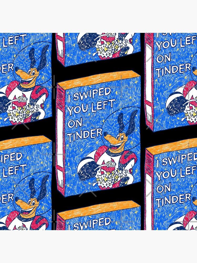 I Swiped You Left on Tinder (Black) by Ranggasme