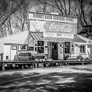 Rabbit Hash Store-Front View B&W by mcstory