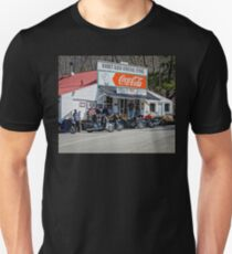 Rabbit Hash Store-Front View Bikers T-Shirt