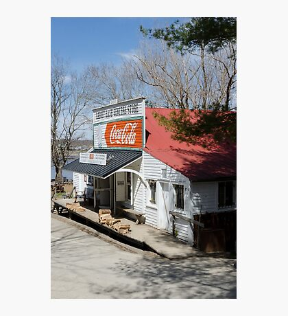 Rabbit Hash Store-Front View Angle Photographic Print