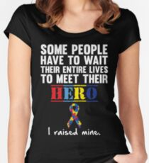 Autism Hero Women's Fitted Scoop T-Shirt