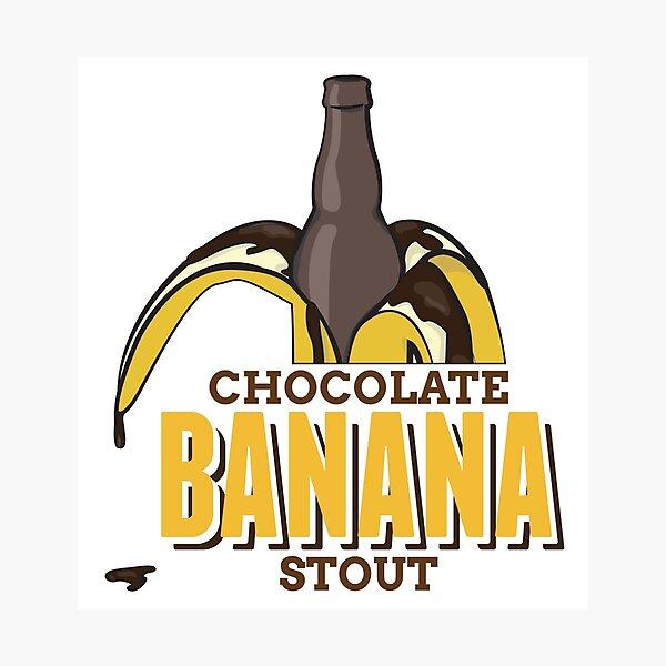 Chocolate Banana Stout Photographic Print
