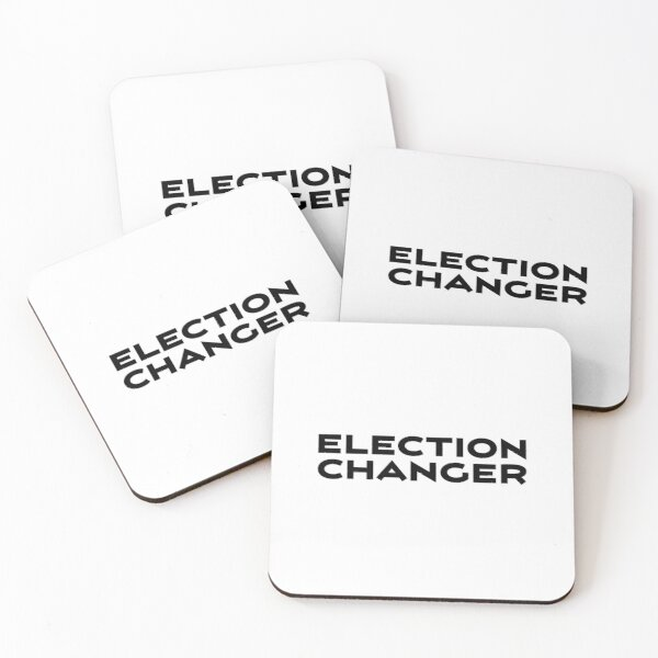 Election Changer Coasters (Set of 4)