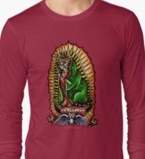 Cat Guadalupano Long Sleeve T-Shirt