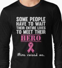 Breast Cancer Hero Long Sleeve T-Shirt