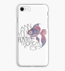 Beautiful Tropical Fish iPhone Case/Skin