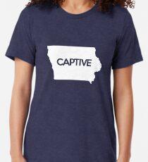 Iowa Captive IA Tri-blend T-Shirt