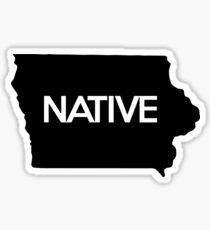 Iowa Native IA Sticker
