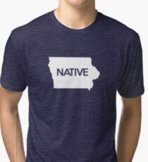 Iowa Native IA Tri-blend T-Shirt