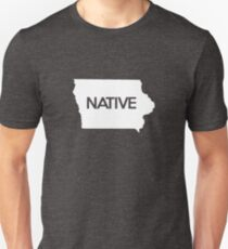 Iowa Native IA Unisex T-Shirt