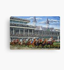 The Kentucky Derby - Churchill Downs Canvas Print