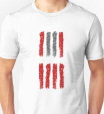 Hateful Eight stripe design T-Shirt