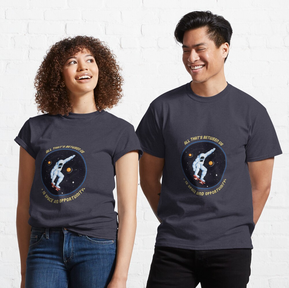 When Worlds Collide  Spacehed/Calling All Skaterz Classic T-Shirt