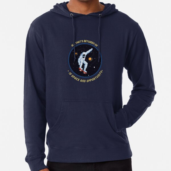 When Worlds Collide  Spacehed/Calling All Skaterz Lightweight Hoodie
