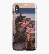 Vernazza Sunset iPhone Case