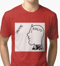 Dreams/Reality Father Ted Tri-blend T-Shirt