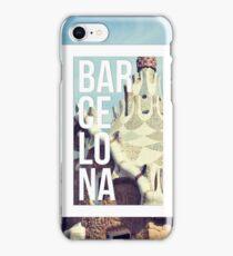 Barcelona Gaudi Work Modernism Park Güell iPhone Case/Skin