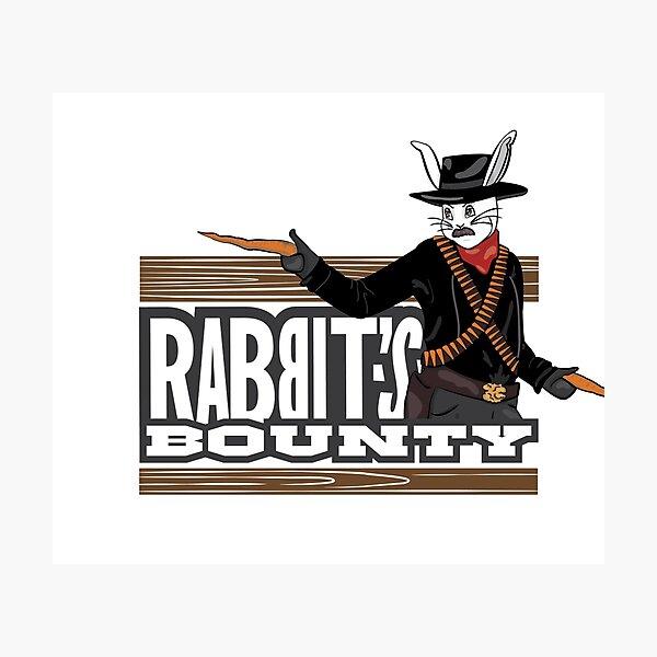 Rabbit's Bounty Photographic Print