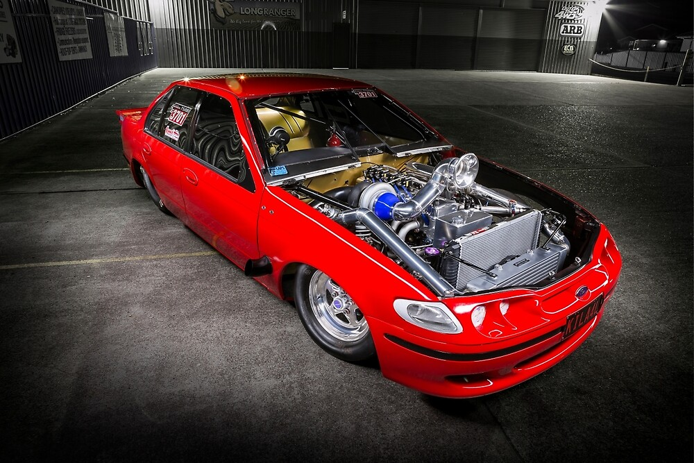 Ray Fairfull's 7sec Ford Falcon by HoskingInd