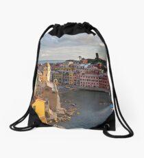 Vernazza Trail View Drawstring Bag