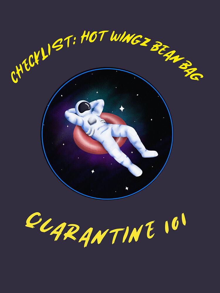 Astronaut on Hiatus—Quarantine Life by MTMERCANTILE